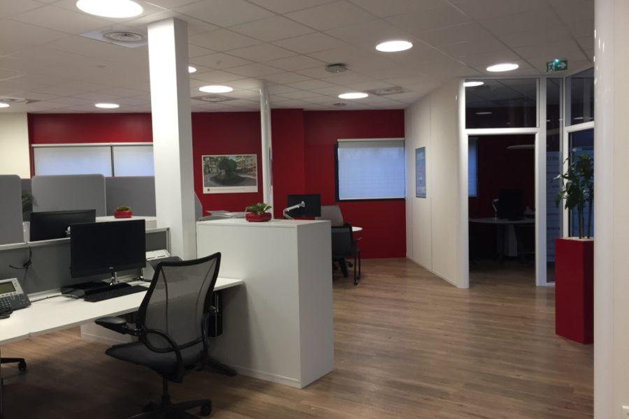 Agence bancaire - Crédit Agricole - Salon de Provence - Nos réalisations - Impact Agencement